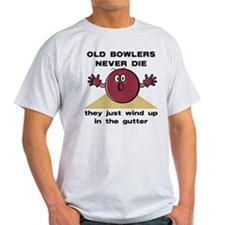 Old Bowlers Never Die T-Shirt