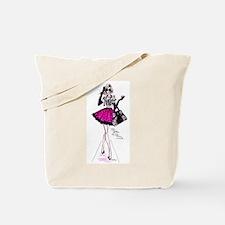 fashion girl Tote Bag