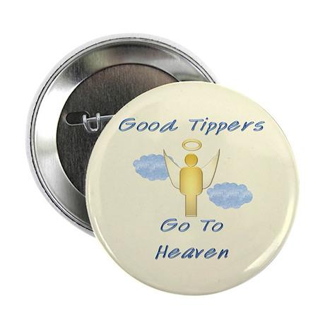 """Good Tipper Angel 2.25"""" Button (10 pack)"""