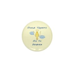 Good Tipper Angel Mini Button (100 pack)