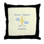 Good Tipper Angel Throw Pillow