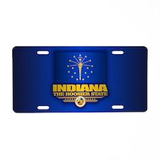 Indiana (v15) Aluminum License Plate