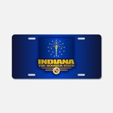 Indiana (v15) Aluminum License Plate