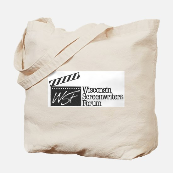 Wisconsin Screenwriters Forum Logo Tote Bag