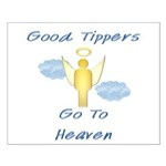 Good Tipper Angel Small Poster