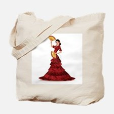 spanish flamenco dancer Tote Bag