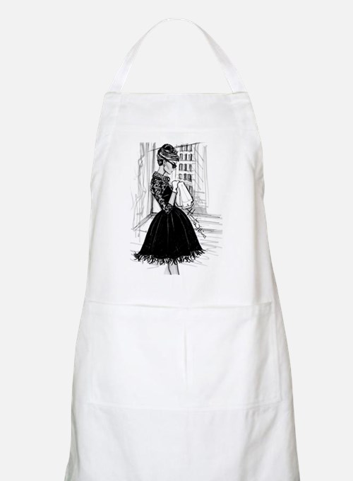 fashion sketch Apron