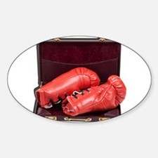 Boxing Gloves in a Briefcase Decal