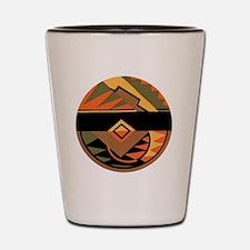 Vintage Art Deco Shot Glass
