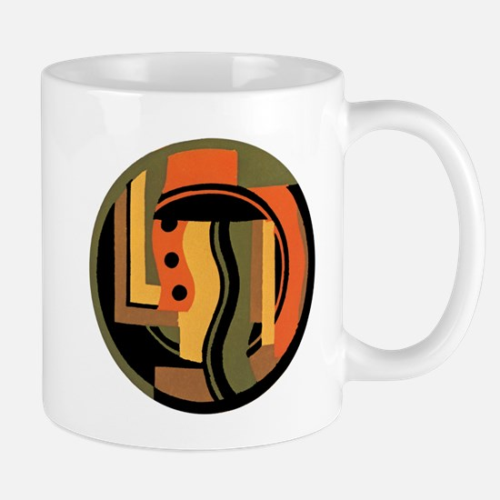 Vintage Art Deco Mugs