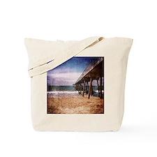 California Pacific Ocean Pier Tote Bag
