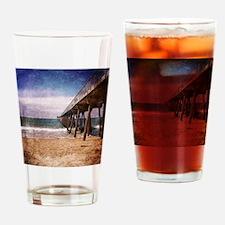 California Pacific Ocean Pier Drinking Glass
