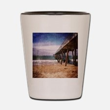California Pacific Ocean Pier Shot Glass