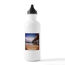California Pacific Ocean Pier Water Bottle