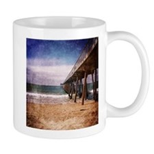 California Pacific Ocean Pier Mugs