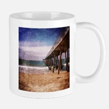 California Pacific Ocean Pier Mugs
