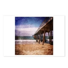 California Pacific Ocean Pier Postcards (Package o