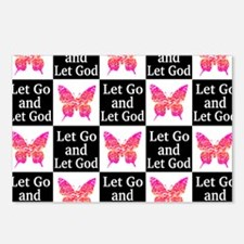 LET GO TO GOD Postcards (Package of 8)