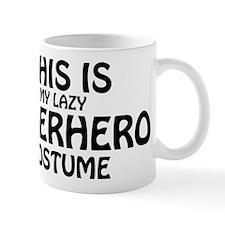 This Is My Lazy Superhero Costume Mug