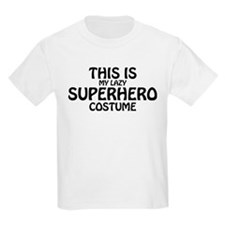 This Is My Lazy Superhero Costu T-Shirt