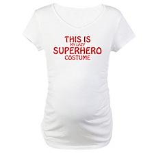 This Is My Lazy Superhero Costum Shirt