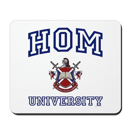 HOM University Mousepad