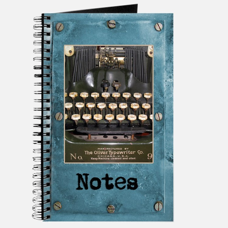 Vintage Olivetti Typewriter Journal
