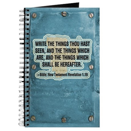 The Things Thou Hast Seen Journal