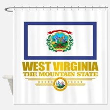 West Virginia (v15) Shower Curtain