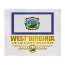 West Virginia (v15) Throw Blanket