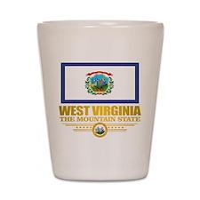West Virginia (v15) Shot Glass
