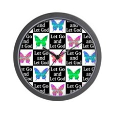 GOD IS IN CHARGE Wall Clock