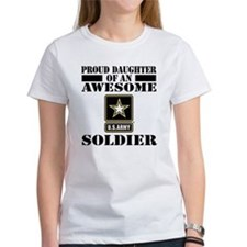 Proud Daughter U.S. Army Tee