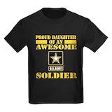 Soldier Kids T-shirts (Dark)