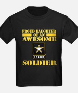 Proud Daughter U.S. Army T