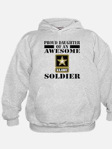 Proud Daughter U.S. Army Hoodie