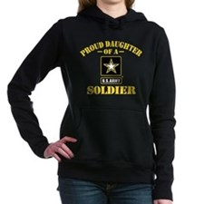 Proud Daughter Of A U.S. Women's Hooded Sweatshirt