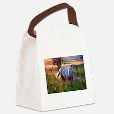 Evening Sun Canvas Lunch Bag