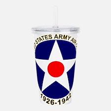 USAAC Army Air Corps Acrylic Double-wall Tumbler