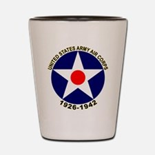 USAAC Army Air Corps Shot Glass