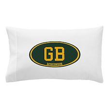 Green Bay Pillow Case
