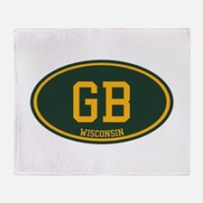 Green Bay Throw Blanket