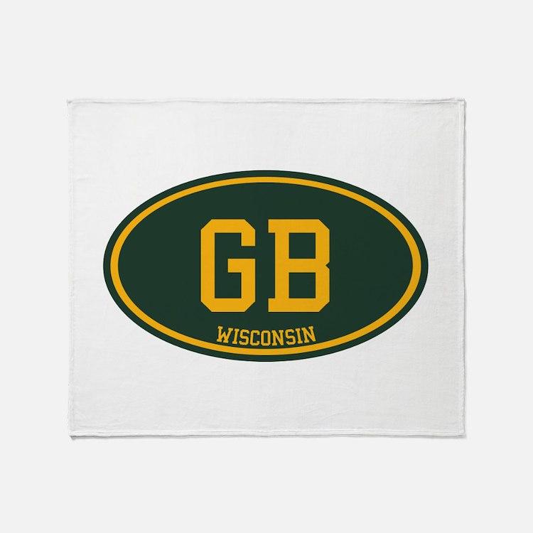 Green Bay Throw Blanket