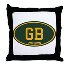 Green Bay Throw Pillow