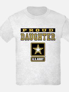 Proud Daughter U.S. Army T-Shirt