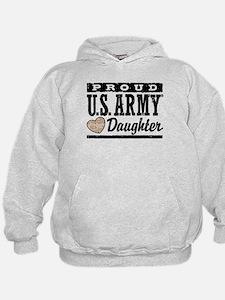 Proud U.S. Army Daughter Hoodie