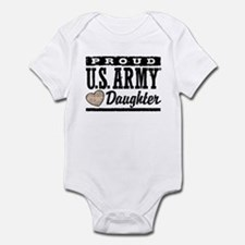 Proud U.S. Army Daughter Infant Bodysuit