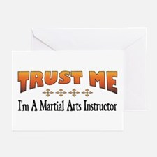 Trust Martial Arts Instructor Greeting Cards (Pack
