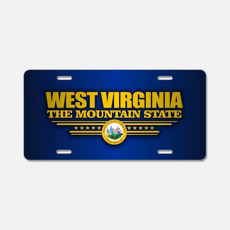 West Virginia (v15) Aluminum License Plate