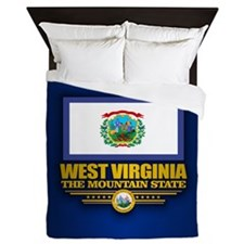 West Virginia (v15) Queen Duvet